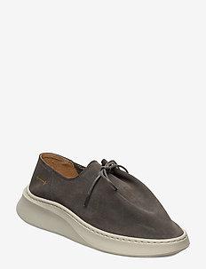 yatfai sneaker sage suede - buty sznurowane - sage