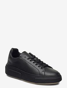 392g black vegan leather - buty sznurowane - black vegan leather