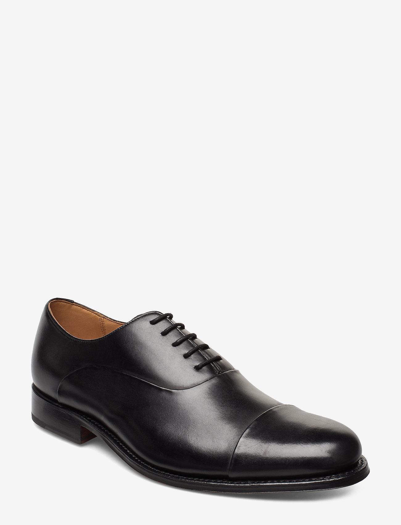Grenson - BERT - buty ze skóry lakierowanej - black - 0