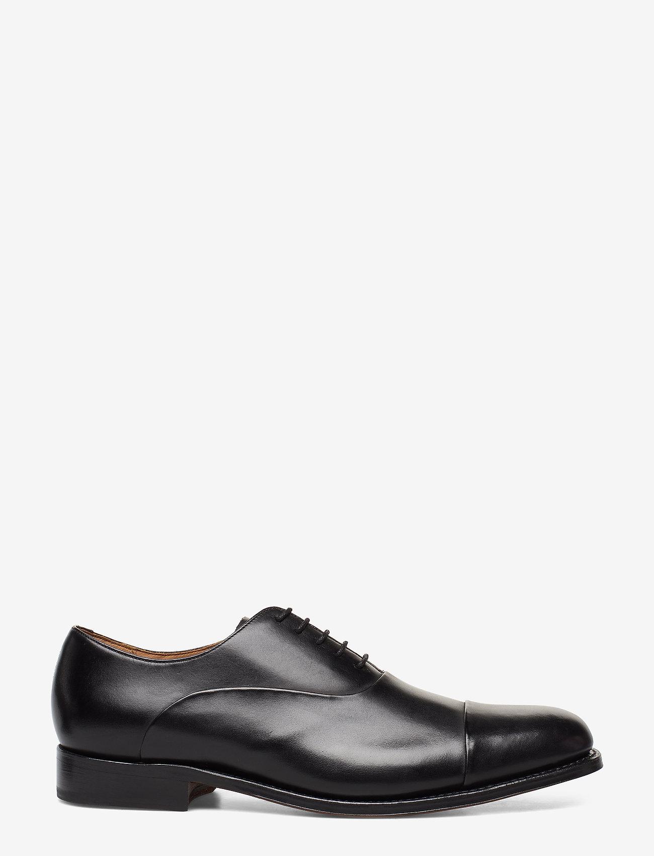 Grenson - BERT - buty ze skóry lakierowanej - black - 1