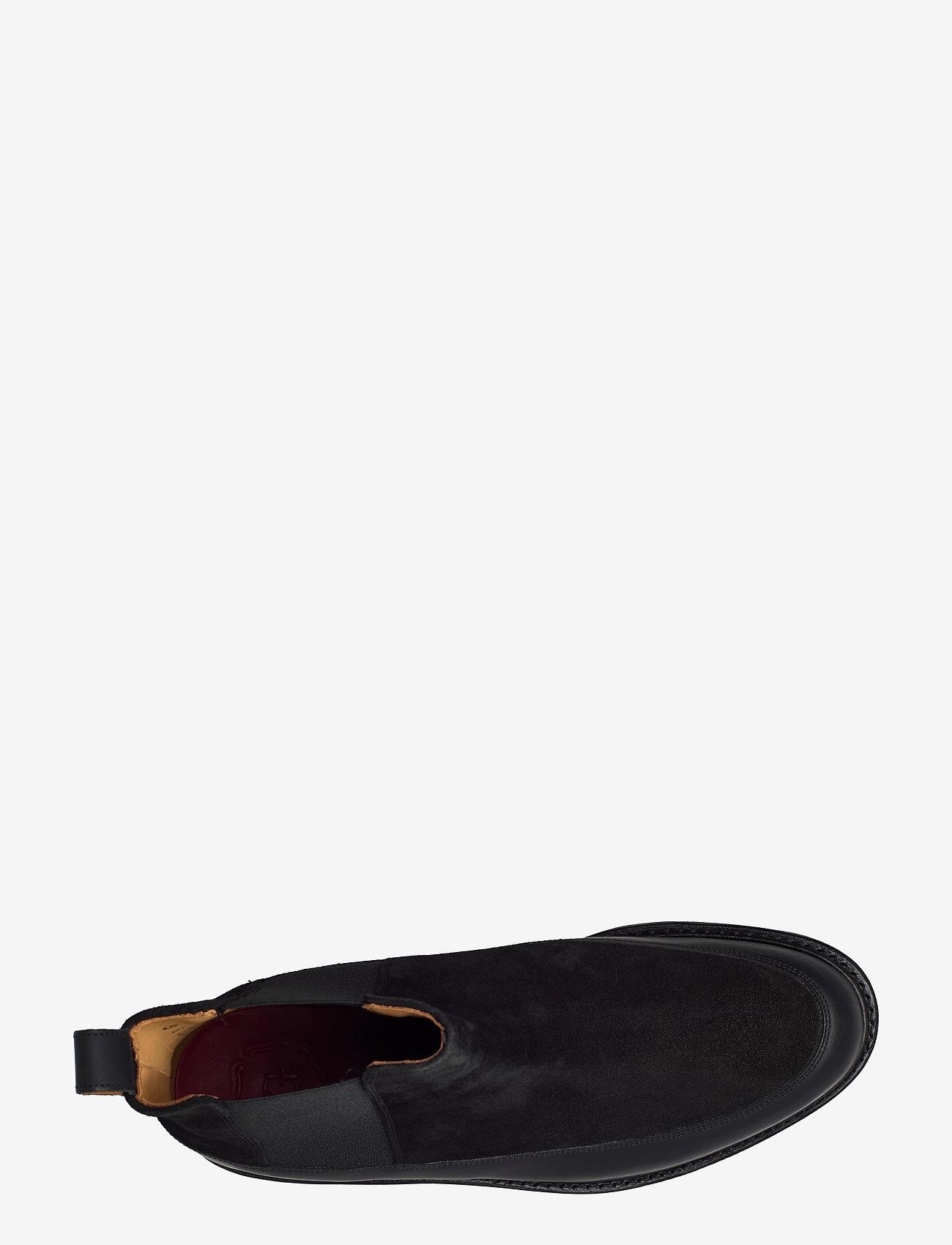 Grenson - ABNER - kängor - black suede - 3