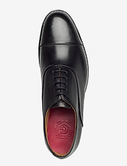 Grenson - BERT - buty ze skóry lakierowanej - black - 3