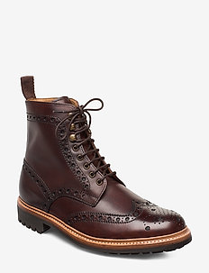 FRED - schnürboots - brown