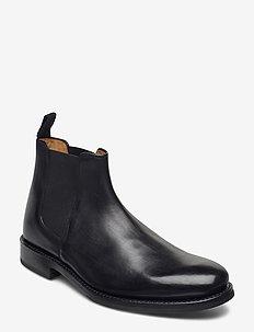 DECLAN - chelsea boots - black