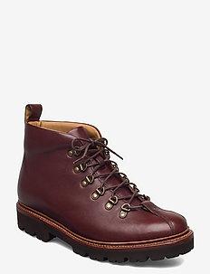 BOBBY - veter schoenen - brown