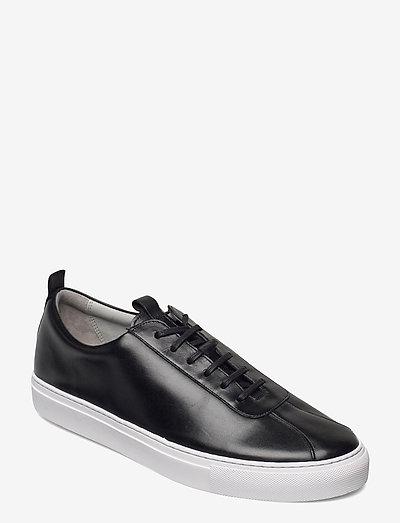 SNEAKER 1 - baskets basses - black calf