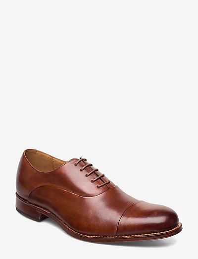 BERT - chaussures lacées - tan
