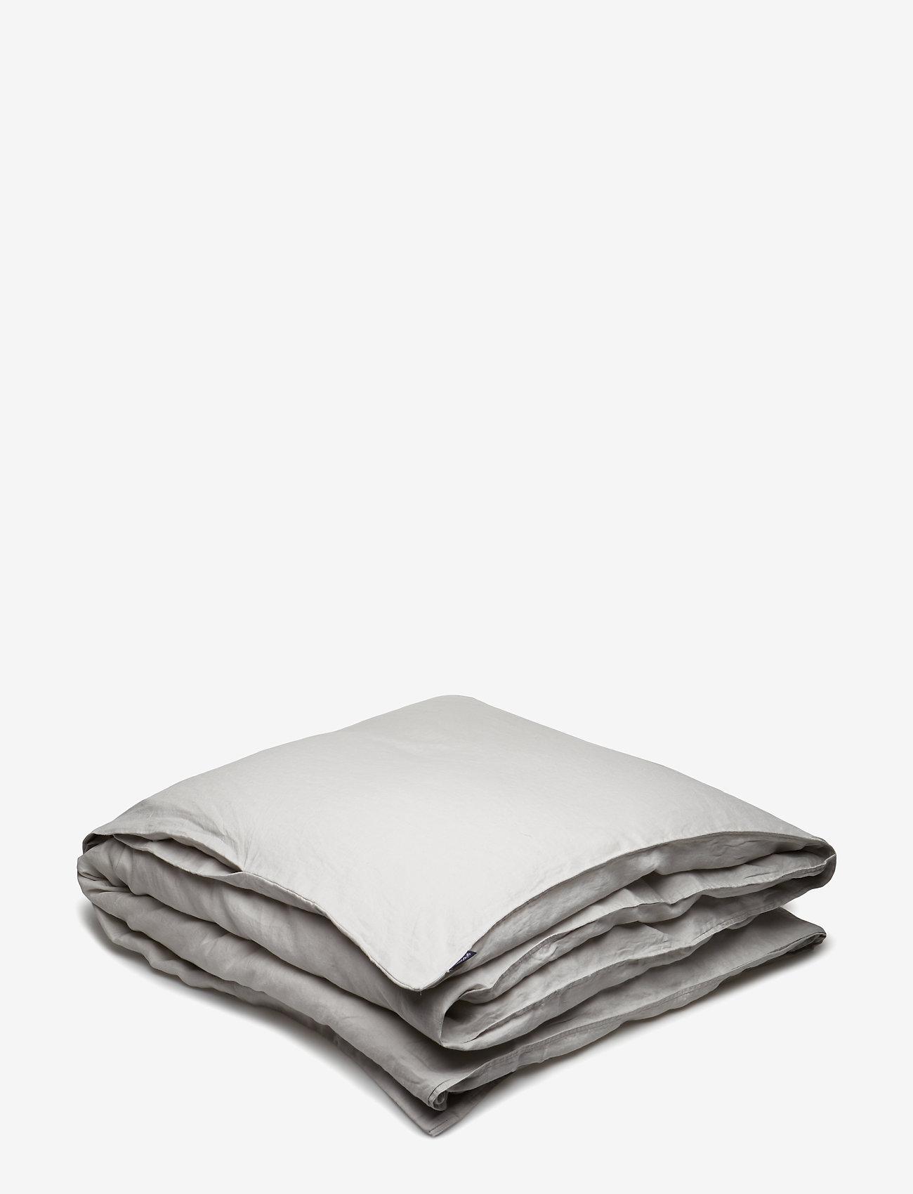 Gripsholm - Quilt Cover Washed Linen - dynebetræk - lunar rock - 0