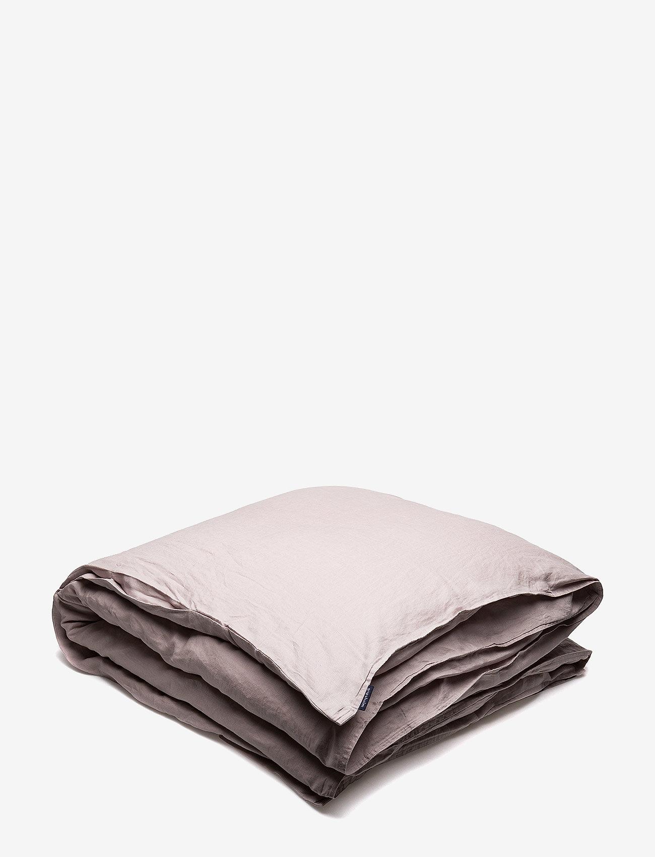 Gripsholm - Quilt Cover Washed Linen - dynebetræk - misty purple - 0