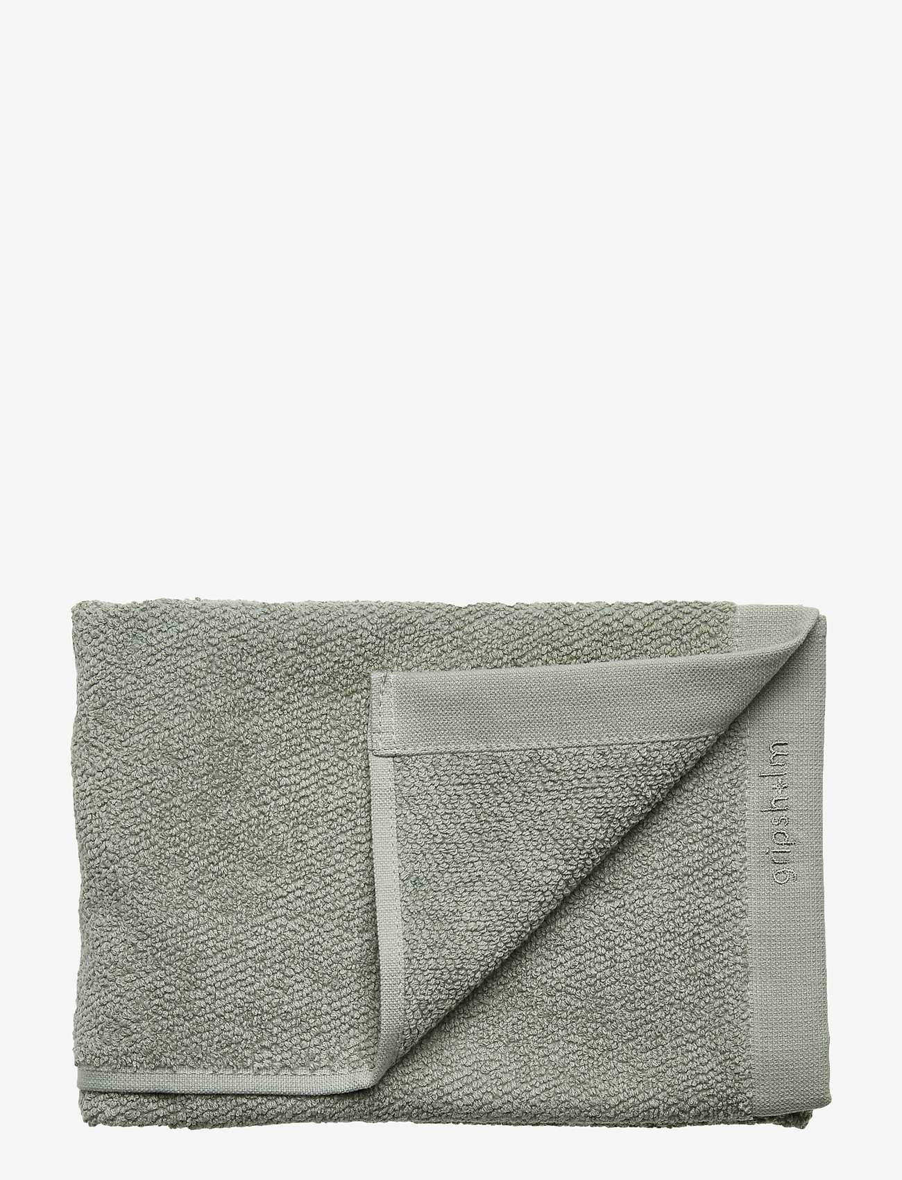 Gripsholm - TOWEL COTTON LINEN - towels - lily green - 0
