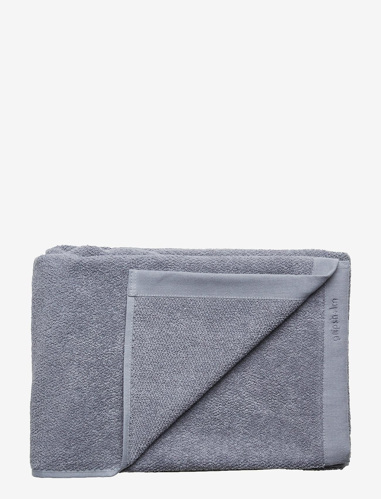 Gripsholm - BATH TOWEL COTTON LINEN - towels - blue winds - 0