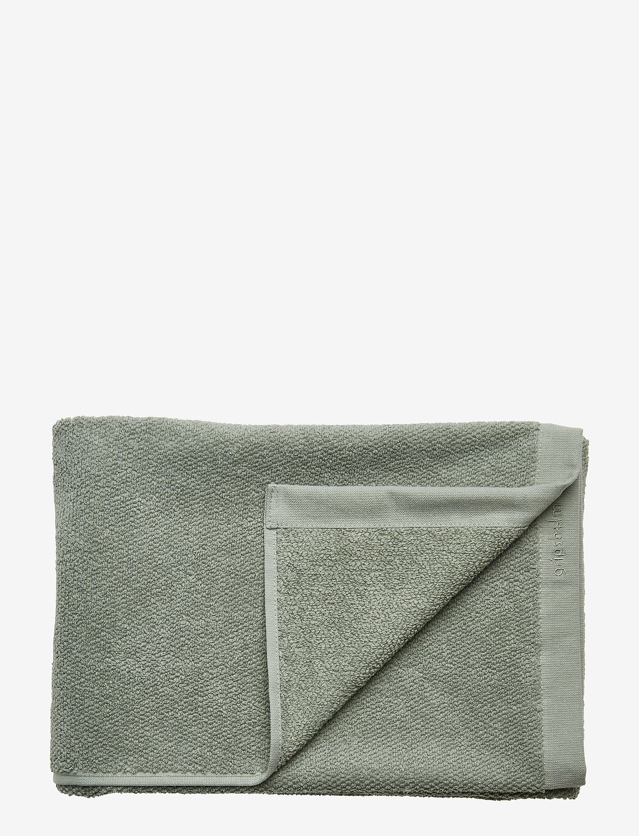 Gripsholm - BATH TOWEL COTTON LINEN - towels - lily green - 0