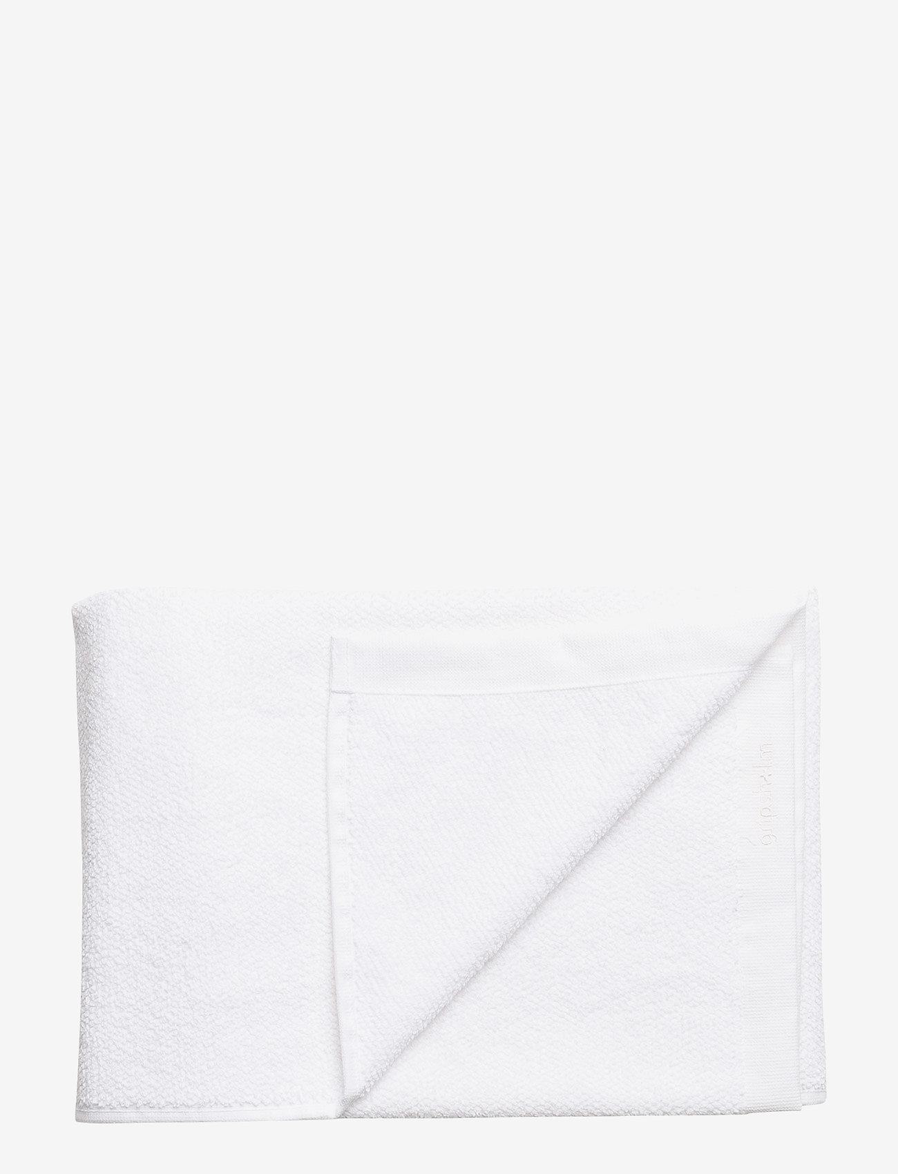Gripsholm - BATH TOWEL COTTON LINEN - towels - white - 1