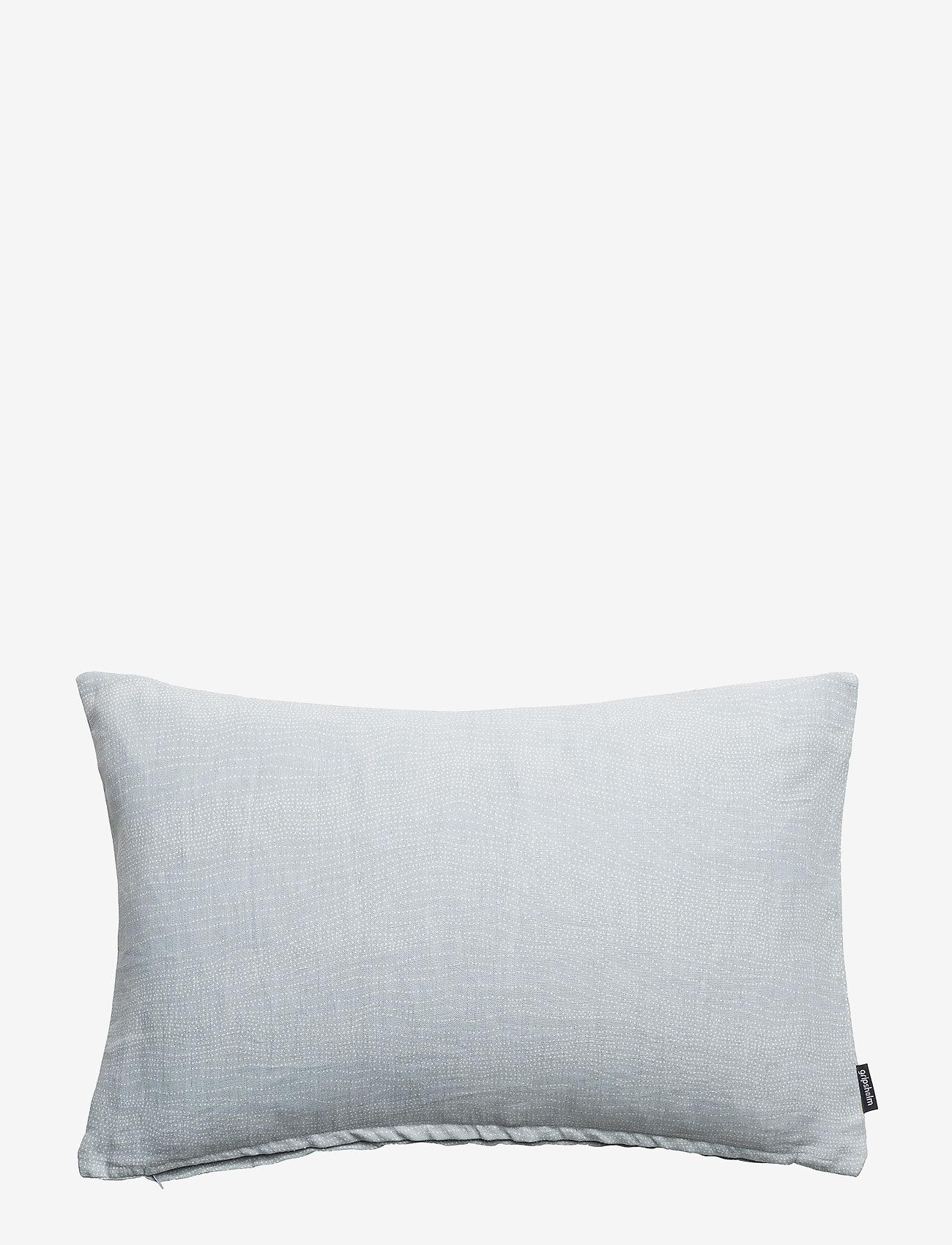 Gripsholm - CUSHION COVER LINEN SAFIR - cushion covers - petrol