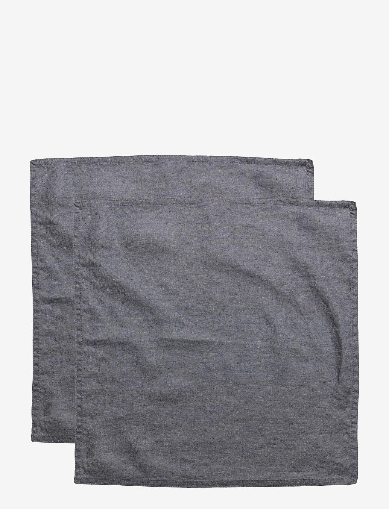 Gripsholm - NAPKIN WASHED LINEN - napkins - ombre blue - 1