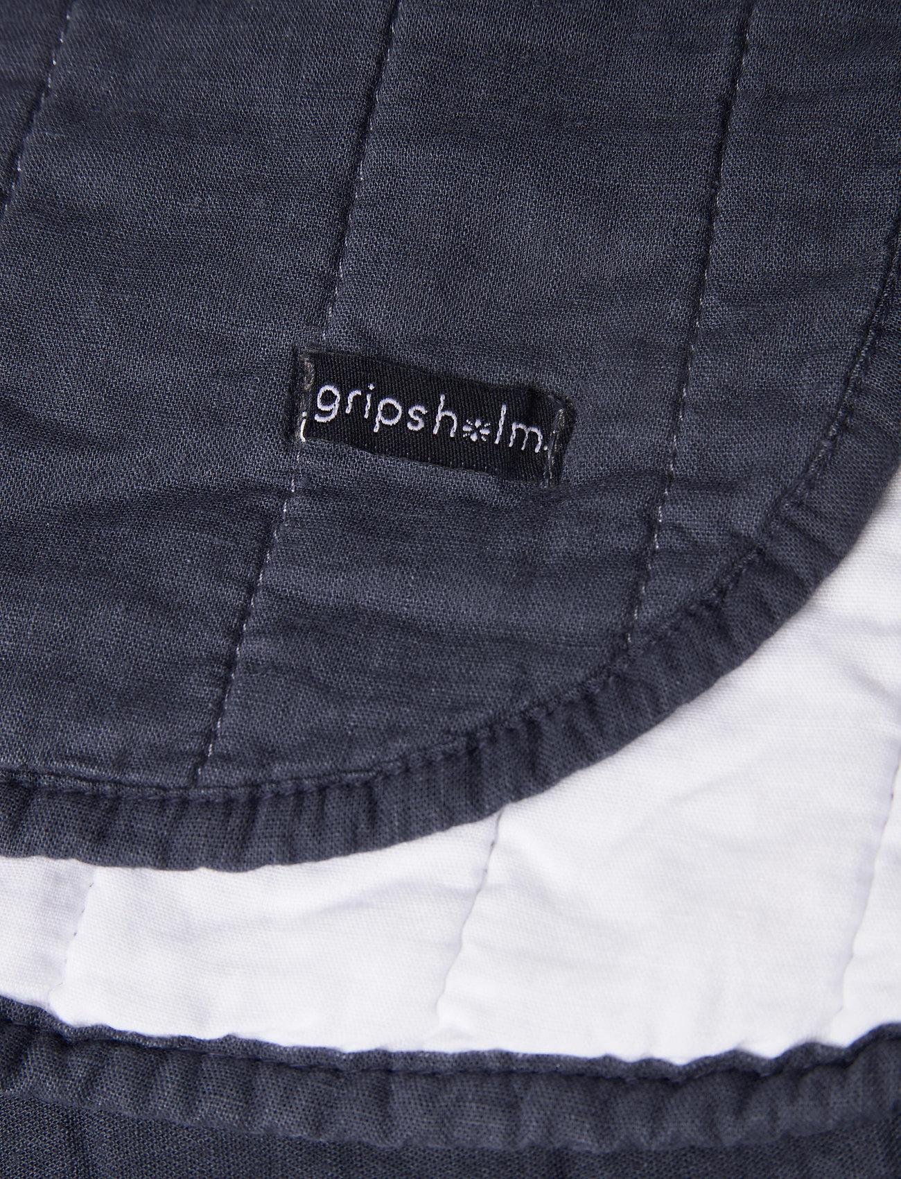 Gripsholm BEDSPREAD LINEN BLEND K.SIZE - Salon OMBRE BLUE - Akcesoria