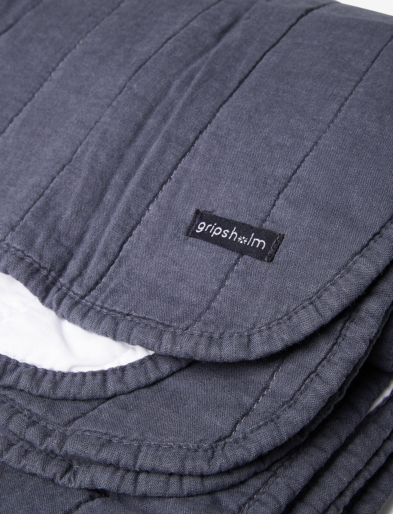 Gripsholm - BED RUNNER LINEN BLEND - sprei - ombre blue - 1