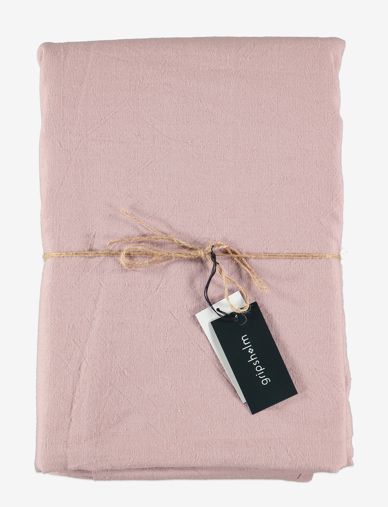 Gripsholm - TABLE CLOTH SOLID SMOKE 145X250 - duker & løpere - fawn - 0