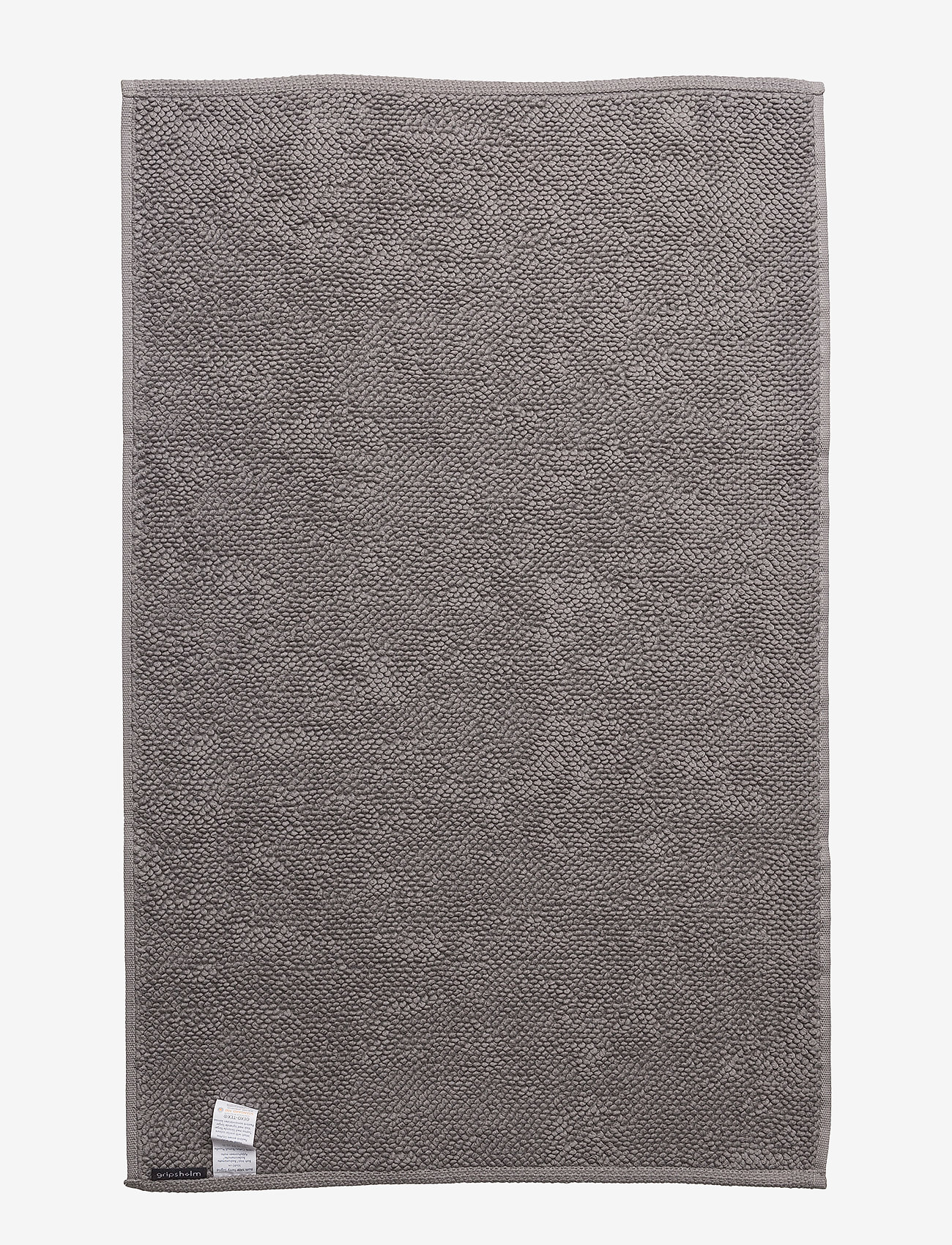 Gripsholm - BATH MAT TERRY SIGRID - bath rugs - grey - 1
