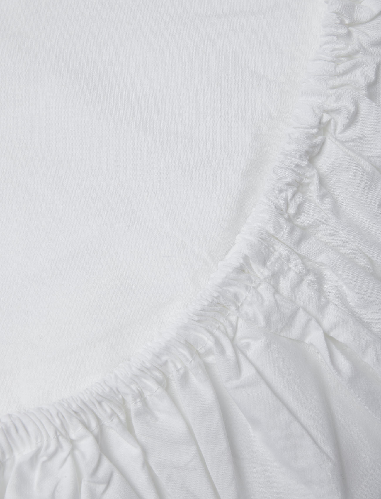 Gripsholm - FITTED SHEET PERCALE - lakanat - white