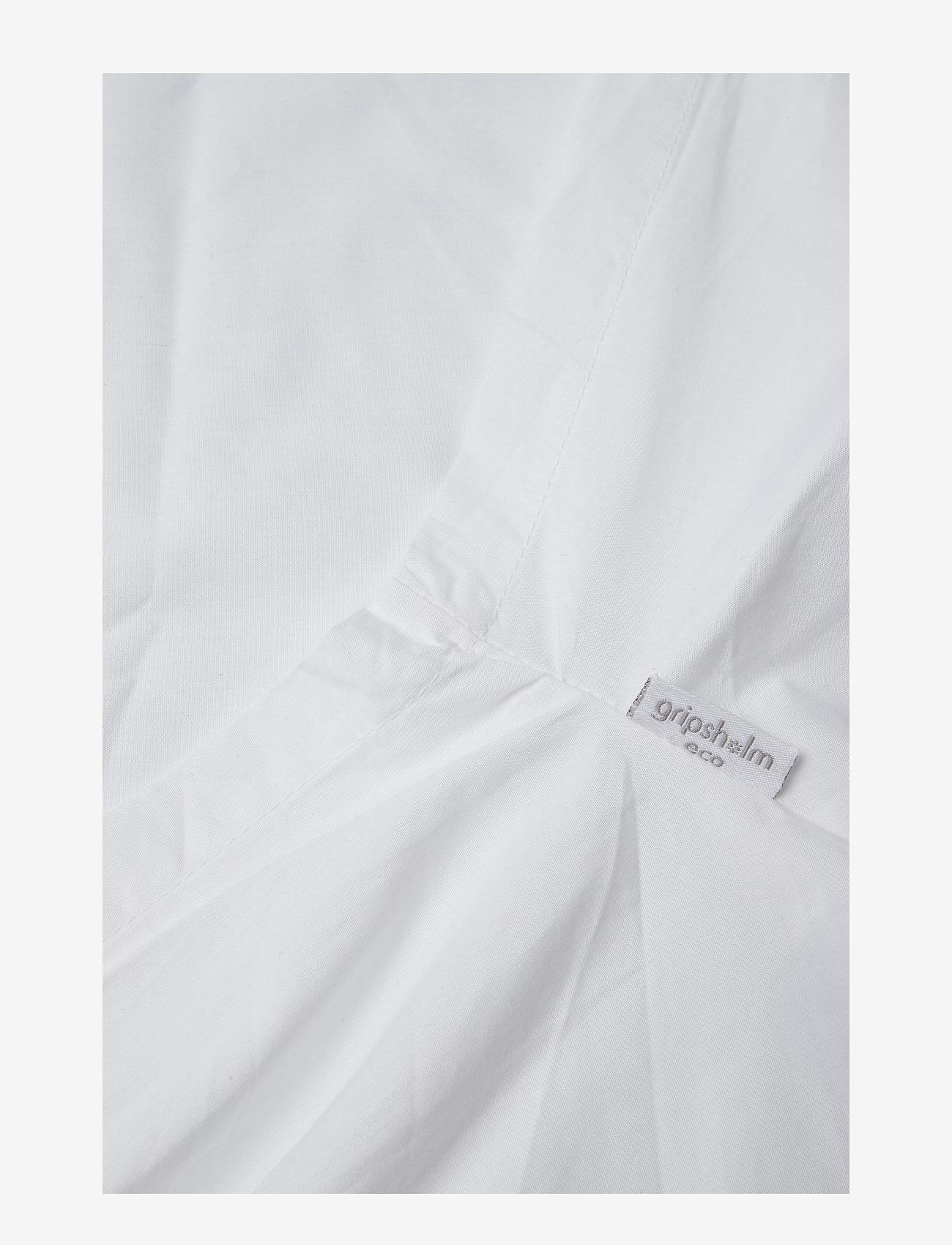 Gripsholm - ENVELOPE SHEET ECO PERCALE - sänglakan - white - 1