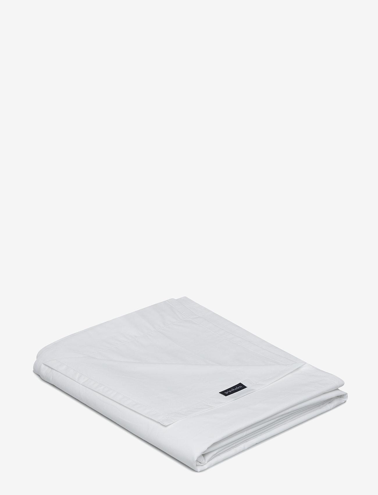 Gripsholm - FLAT SHEET PERCALE - lakanat - white