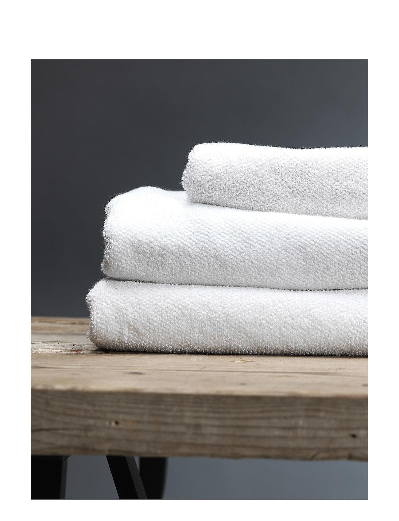 Gripsholm - BATH TOWEL COTTON LINEN - towels - white - 0