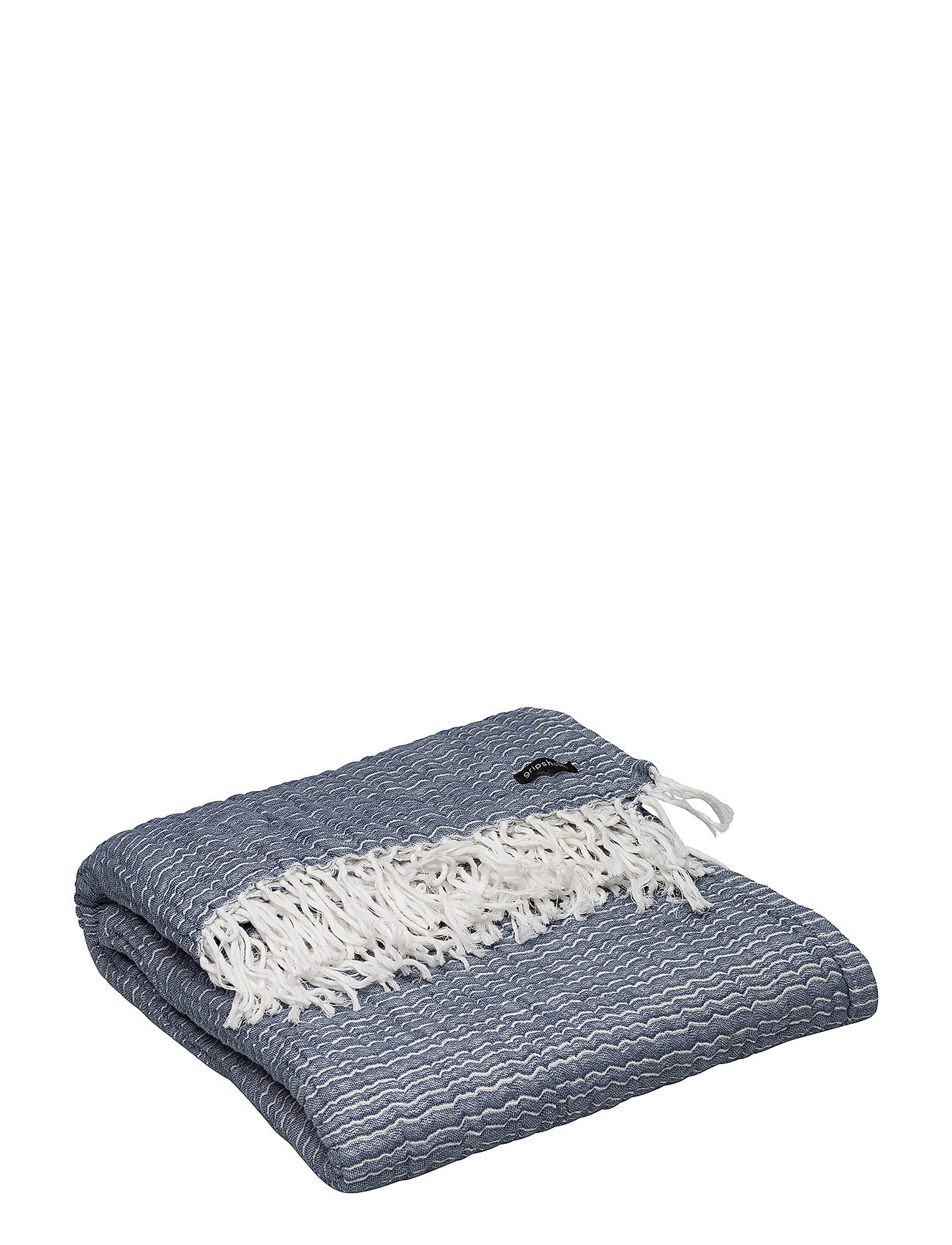 Gripsholm THROW WASHED COTTON - VINTAGE INDIGO