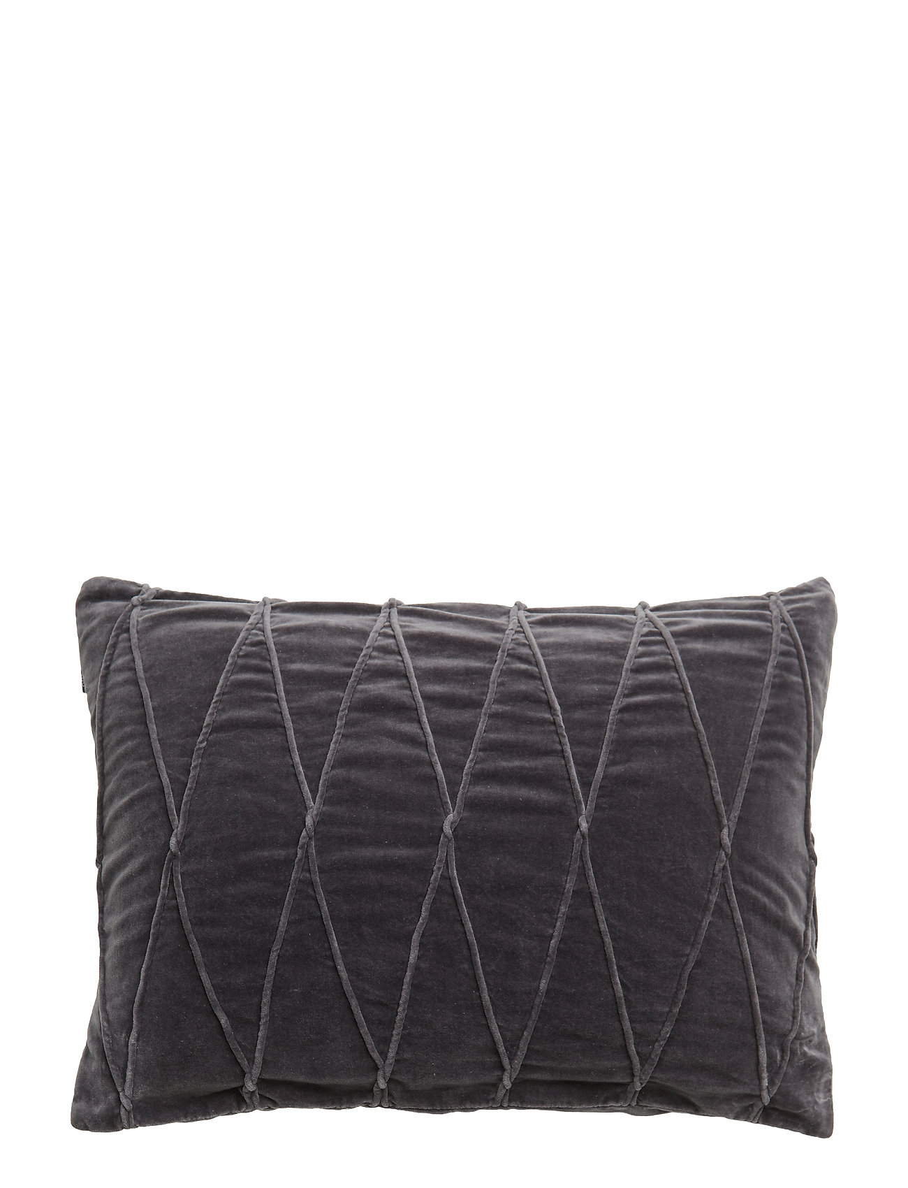 Gripsholm CUSHION COVER INA GOTS - ANTHRACITE