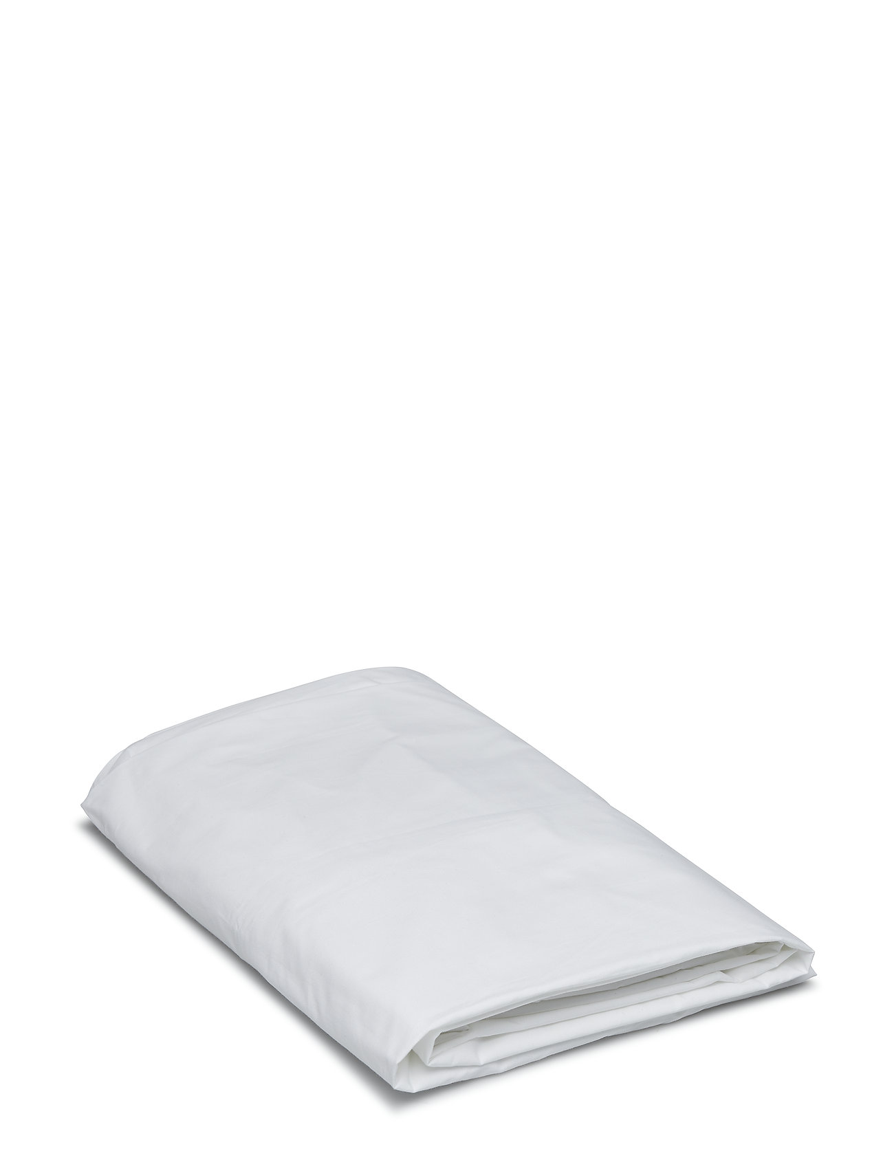 Gripsholm FITTED SHEET PERCALE - WHITE