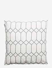Gripsholm - CUSHION COVER AMETIST - cushion covers - medium grey - 0