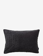 Gripsholm - CUSHION COVER ELLIOT GOTS - tyynyliinat - anthracite - 0