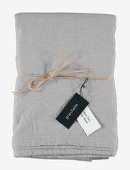 Gripsholm - TABLE CLOTH SOLID SMOKE 145X250 - duker & løpere - smoke - 0