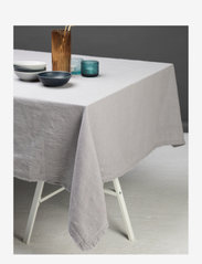 Gripsholm - TABLE CLOTH SOLID SMOKE 145X250 - duker & løpere - smoke - 1