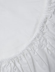 Gripsholm - FITTED SHEET PERCALE - lakanat - white - 1