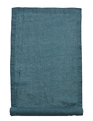 Runner Washed Linen - DARK PETROL