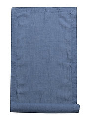 Runner Washed Linen - VINTAGE INDIGO