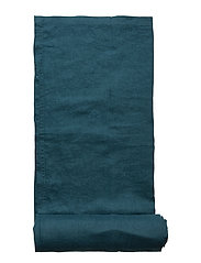 Table Cloth Washed Linen - DARK PETROL