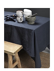 Gripsholm - Table Cloth Washed Linen - obrusy - ombre blue - 0