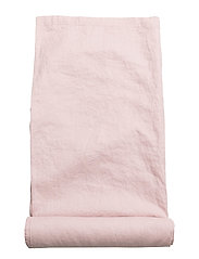 Table Cloth Washed Linen - PINK LILAC