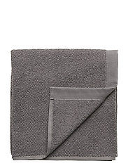 TOWEL COTTON LINEN - DARK GREY