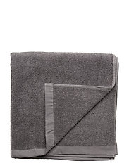 BATH TOWEL COTTON LINEN - DARK GREY