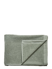 BATH TOWEL COTTON LINEN - LILY GREEN