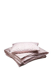 BED SET PERCALE CITRIN - MAUVE