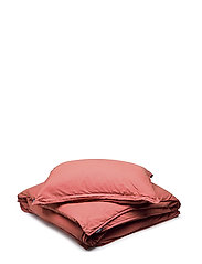 BED SET VINTAGE GOTS - BRICK RED