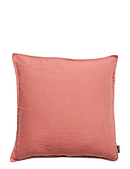 CUSHION COVER WASHED LINEN - WITHERED ROSE