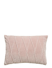 CUSHION COVER INA GOTS - ROSE
