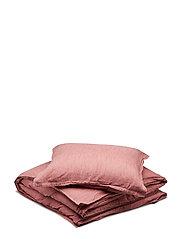 BED SET LINEN LEO - ASH ROSE