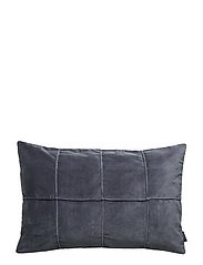 CUSHION COVER HELMER GOTS - OMBRE BLUE