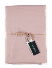 TABLE CLOTH SOLID SMOKE 145X250 - FAWN